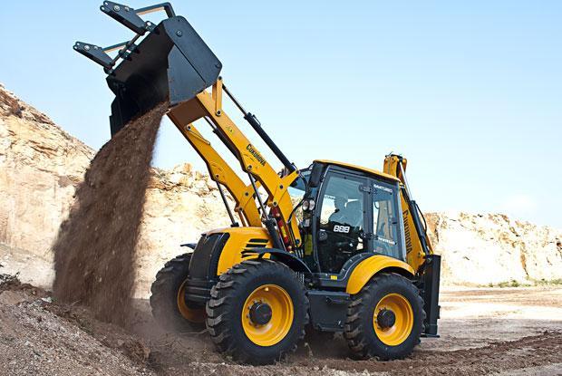 Excavări cu Buldoexcavatorul
